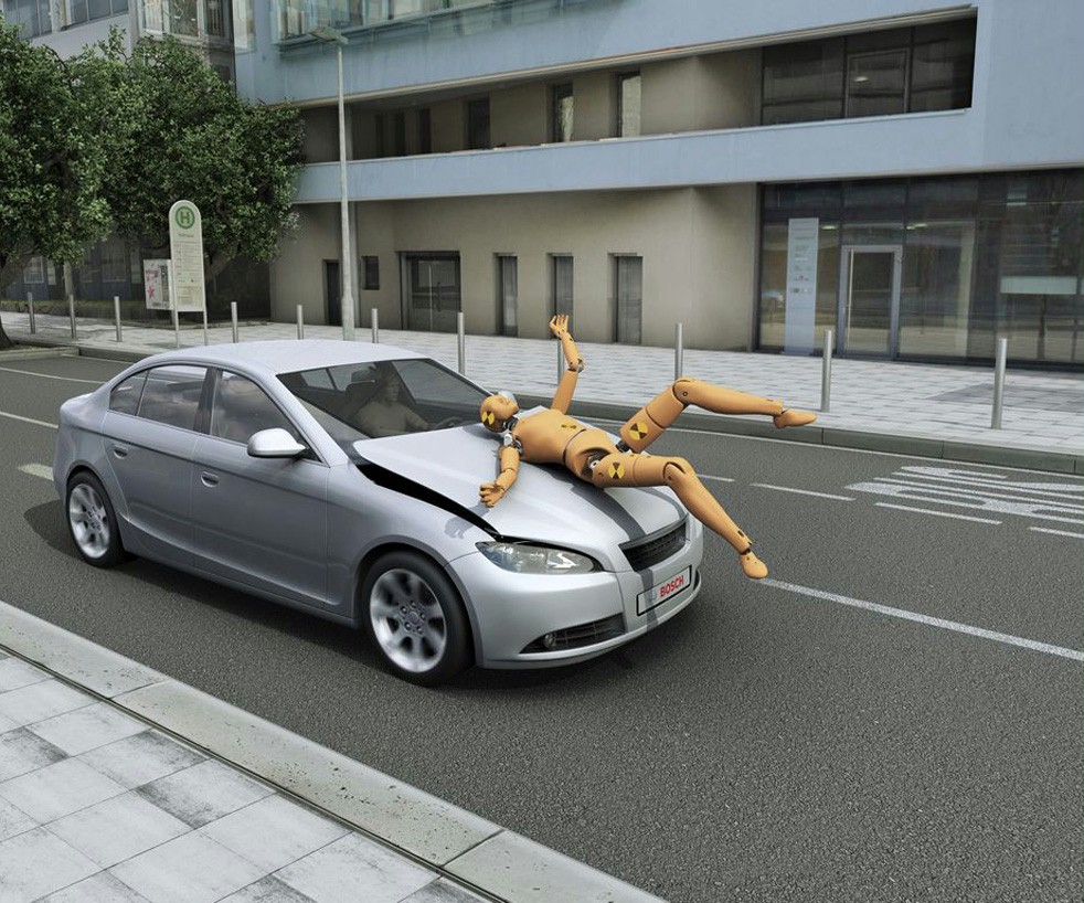 crash pieton
