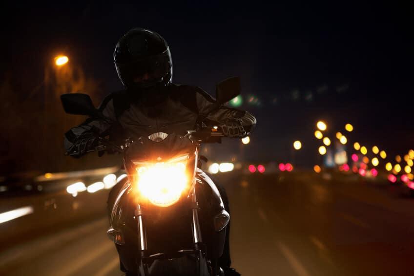 moto nuit