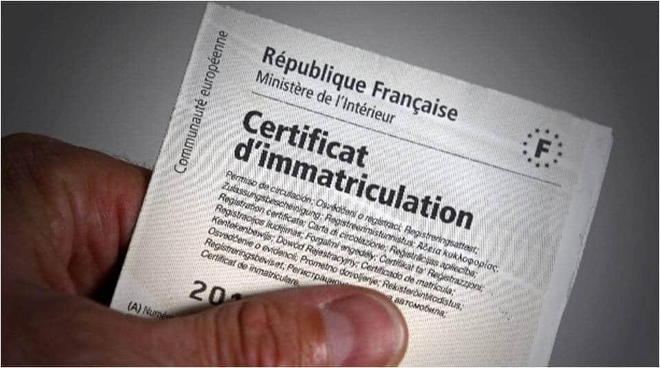 Carte Grise Les Demarches Administratives A Faire