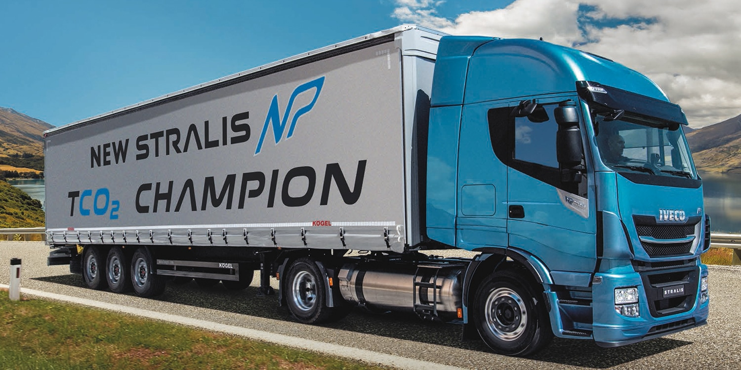 camion iveco stralis NP gnv