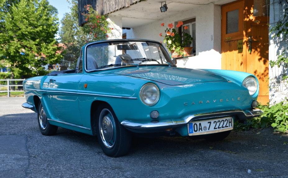 Les Avantages D Une Voiture De Collection Renault